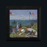 "Claude Monet - The Garden at Sainte Adresse Art Gift Box<br><div class=""desc"">Claude Monet - The Garden at Sainte Adresse. Classic Painting by one of the worlds most famous artists.</div>"