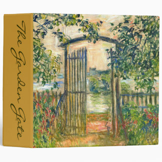 Claude Monet: The Garden Gate at Vetheuil Binder