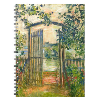 Claude Monet: The Garden Gate at Vetheuil Notebook