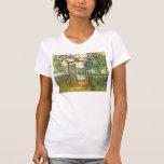 Claude Monet: The Garden Gate at Vetheuil T Shirt