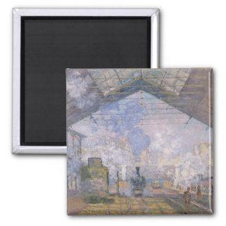 Claude Monet | The Gare St. Lazare, 1877 Magnet