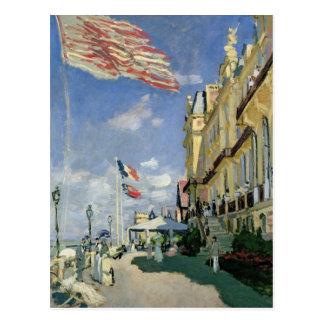 Claude Monet | The Hotel des Roches Noires Postcard