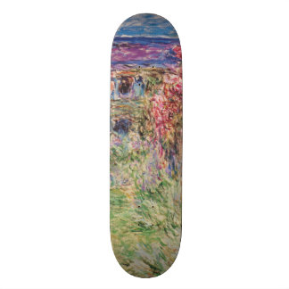 Claude Monet The House Among the Roses GalleryHD Skateboard