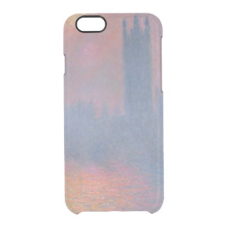 Claude Monet | The Houses of Parliament, London Clear iPhone 6/6S Case
