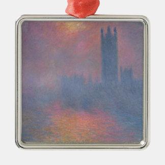 Claude Monet | The Houses of Parliament, London Metal Ornament