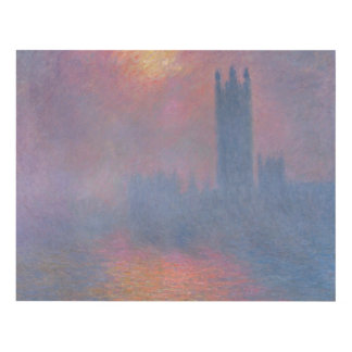 Claude Monet | The Houses of Parliament, London Panel Wall Art