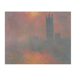 Claude Monet | The Houses of Parliament, London Wood Wall Art
