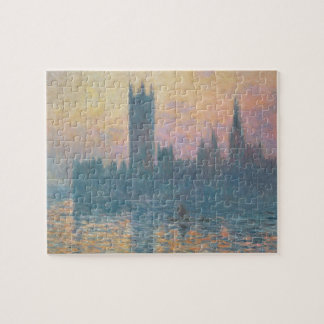 Claude Monet | The Houses of Parliament, Sunset Jigsaw Puzzle