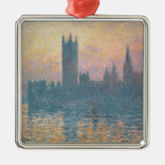 Claude Monet | The Houses of Parliament, Sunset Metal Ornament