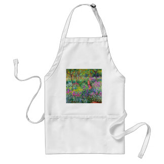 Claude Monet: The Iris Garden at Giverny Adult Apron