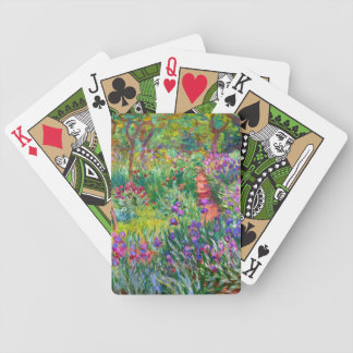 Claude Monet: The Iris Garden at Giverny Bicycle Playing Cards