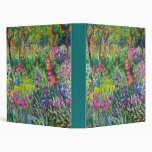 Claude Monet: The Iris Garden at Giverny Binder