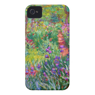 Claude Monet: The Iris Garden at Giverny iPhone 4 Case