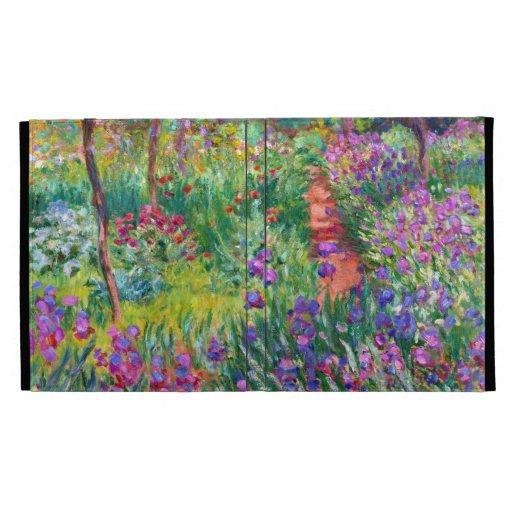Claude Monet: The Iris Garden at Giverny iPad Cases