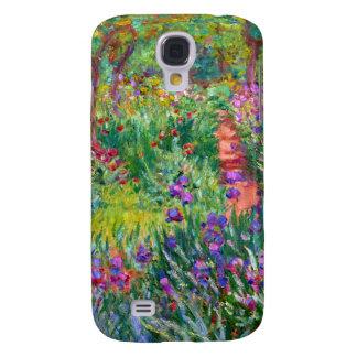 Claude Monet: The Iris Garden at Giverny Galaxy S4 Cover