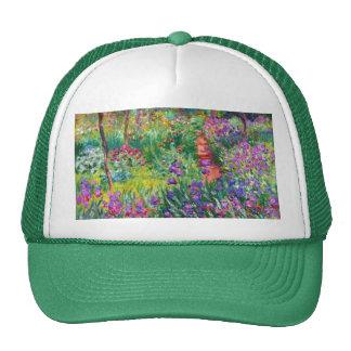 Claude Monet: The Iris Garden at Giverny Trucker Hat