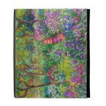 Claude Monet: The Iris Garden at Giverny iPad Case