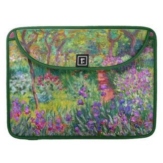 Claude Monet: The Iris Garden at Giverny MacBook Pro Sleeve