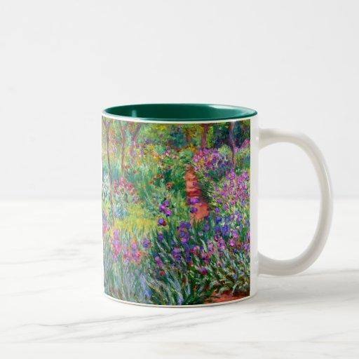 Claude Monet: The Iris Garden at Giverny Mug