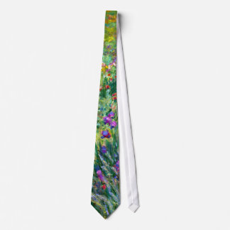 Claude Monet: The Iris Garden at Giverny Neck Tie