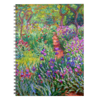 Claude Monet: The Iris Garden at Giverny Notebook