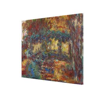 Claude Monet | The Japanese Bridge Canvas Print