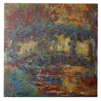 Claude Monet | The Japanese Bridge Ceramic Tile