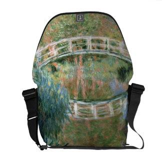 Claude Monet | The Japanese Bridge, Giverny Messenger Bag