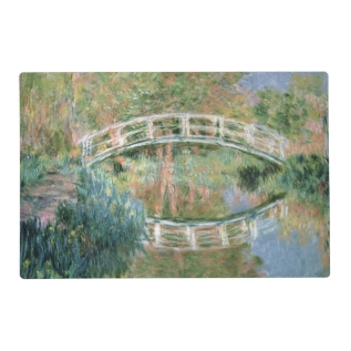 Claude Monet | The Japanese Bridge, Giverny Placemat at Zazzle