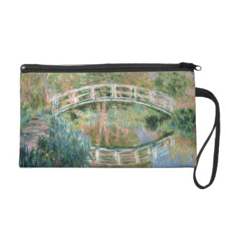 Claude Monet | The Japanese Bridge, Giverny Wristlet Purse