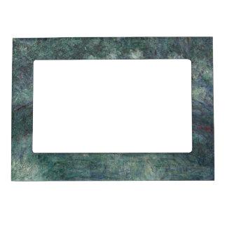 Claude Monet - The Japanese bridge Magnetic Picture Frame