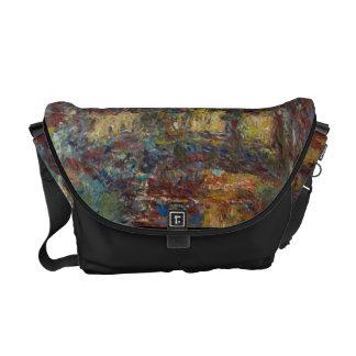 Claude Monet | The Japanese Bridge Messenger Bag