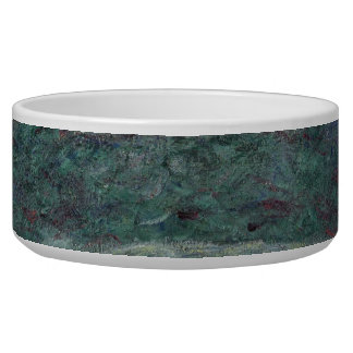 Claude Monet - The Japanese bridge Pet Food Bowl