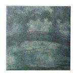 Claude Monet - The Japanese bridge Tiles