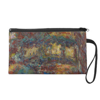 Claude Monet | The Japanese Bridge Wristlet Purse