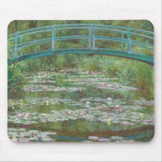Claude Monet | The Japanese Footbridge, 1899 Mouse Pad