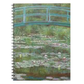 Claude Monet | The Japanese Footbridge, 1899 Notebook