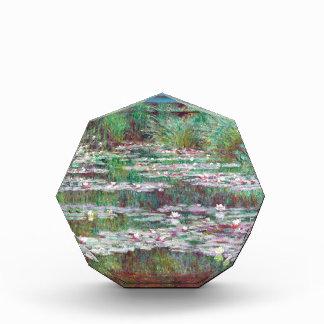 Claude Monet The Japanese Footbridge Acrylic Award