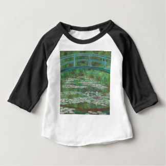 Claude Monet - The Japanese Footbridge Baby T-Shirt