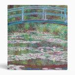 Claude Monet The Japanese Footbridge Binder