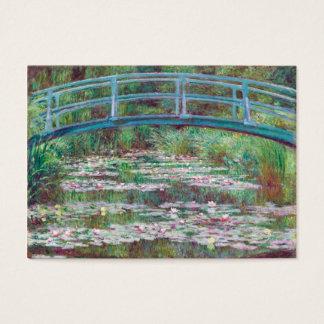 Claude Monet The Japanese Footbridge Business Card