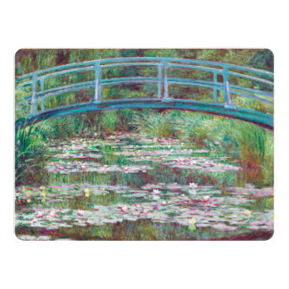 Claude Monet The Japanese Footbridge Card