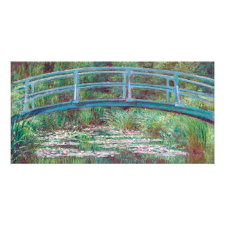 Claude Monet The Japanese Footbridge Card