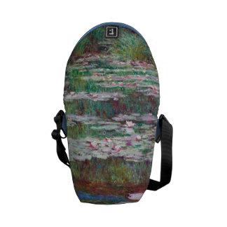 Claude Monet The Japanese Footbridge Courier Bag