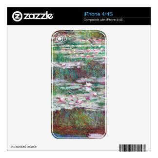 Claude Monet The Japanese Footbridge Decals For The iPhone 4S