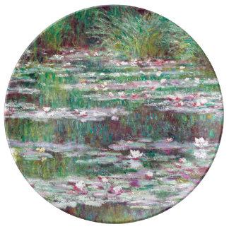 Claude Monet The Japanese Footbridge Dinner Plate