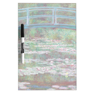 Claude Monet The Japanese Footbridge Dry-Erase Whiteboard