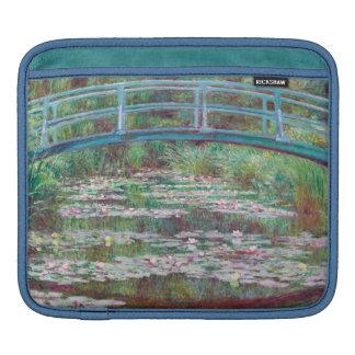 Claude Monet The Japanese Footbridge iPad Sleeves