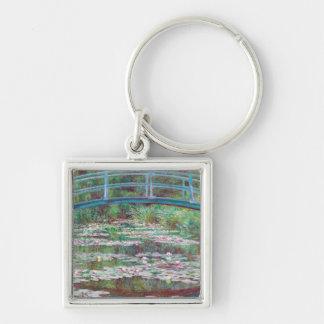Claude Monet The Japanese Footbridge Keychain