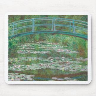 Claude Monet - The Japanese Footbridge Mouse Pad